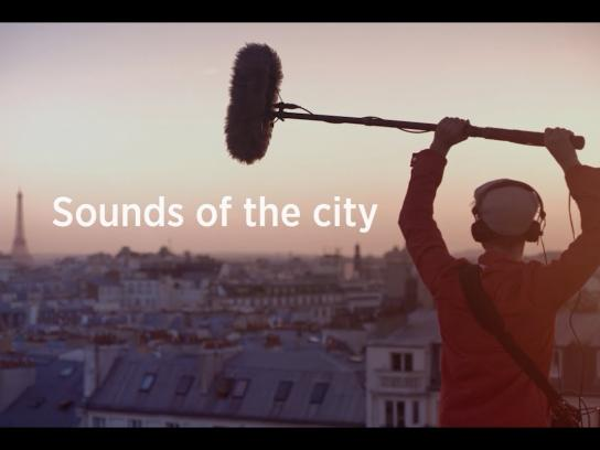 Thalys Ambient Ad -  Sounds of the City