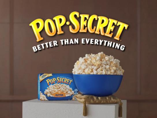 Pop Secret Film Ad - Flowers