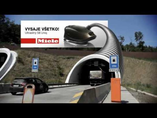 Miele Digital Ad -  Tunnel