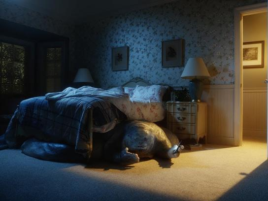 TurboTax Film Ad - The Thing Under the Bed