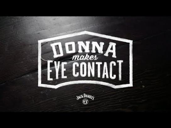Jack Daniel's Digital Ad -  Donna Makes Eye Contact