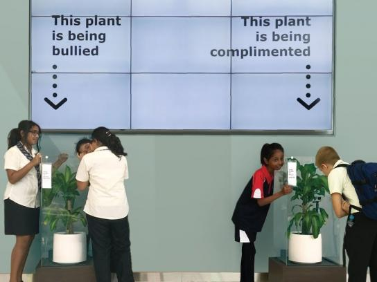 IKEA Experiential Ad - Bully A Plant: Say No To Bullying