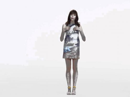 Mary Katrantzou Film Ad -  Chinese Monologue