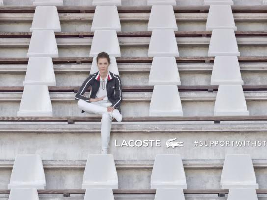 Lacoste Film Ad - Support with Style