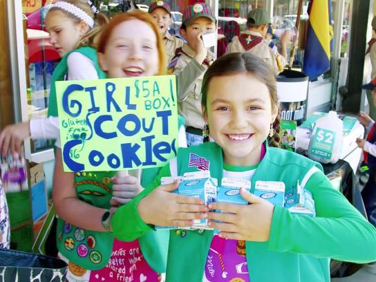 California Milk Processor Board Ambient Ad -  Got milk? - Scouts