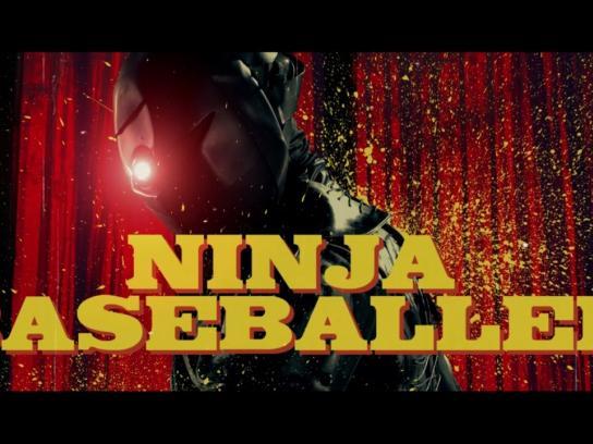 Nippon Express Film Ad - Ninja baseballer