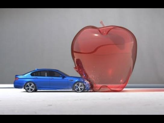 BMW Film Ad -  Bullet - High Performance Art
