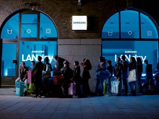 Samsung Ambient Ad - LANdry