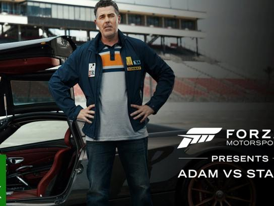 Microsoft Film Ad - Forza Motorsport 7 Presents: Adam vs. Stacey