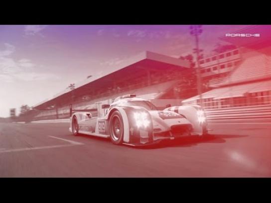 Porsche Digital Ad -  #24SocialRace