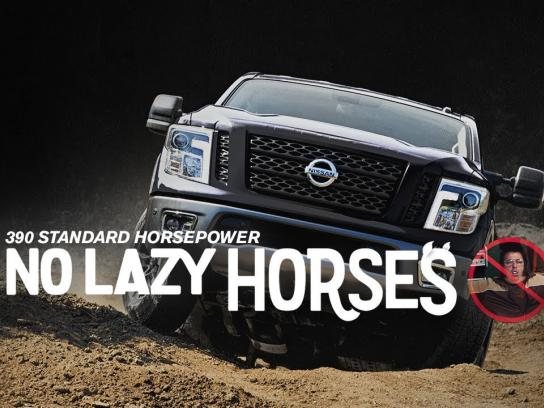 Nissan Film Ad - No Lazy Horses