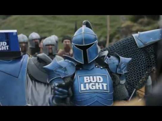 Bud Light Film Ad - Bud Knight