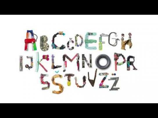Ecologists Without Borders Experiential Ad - The Cleanest Font In The World