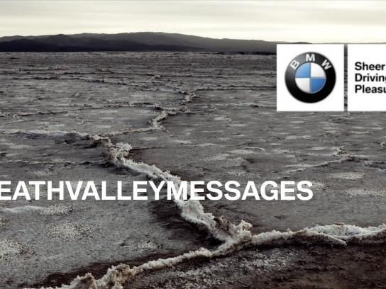 BMW Digital Ad -  #deathvalleymessages