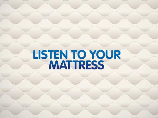 Dunlopillo Ambient Ad -  Listen to your mattress