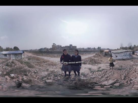 Theirworld Digital Ad - Safe Schools - Nepal