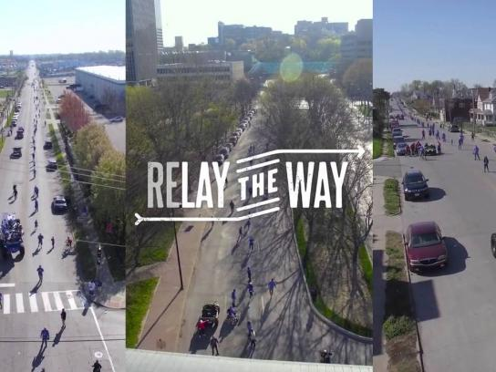 MLB Urban Youth Academy Ambient Ad - Relay the way