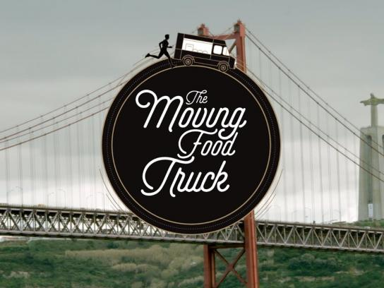 Adexo Ambient Ad - The moving food truck