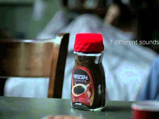 Nescafe Direct Ad -  Alarm cup