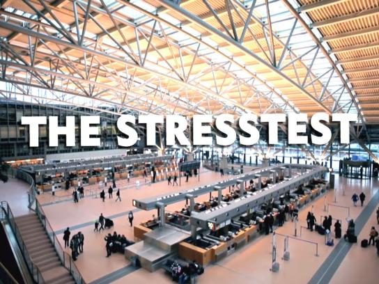 Nivea Ambient Ad -  Stresstest