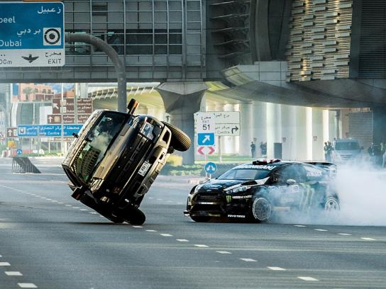 Ford Digital Ad -  Ken Block's Gymkhana 8