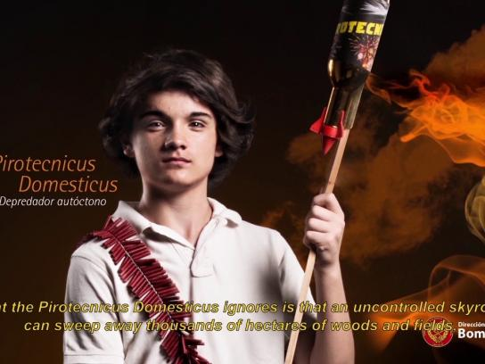 Dirección Nacional de Bomberos Film Ad - Depredadores autóctonos, 4
