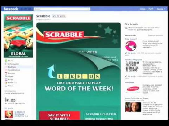 Scrabble Digital Ad -  Search