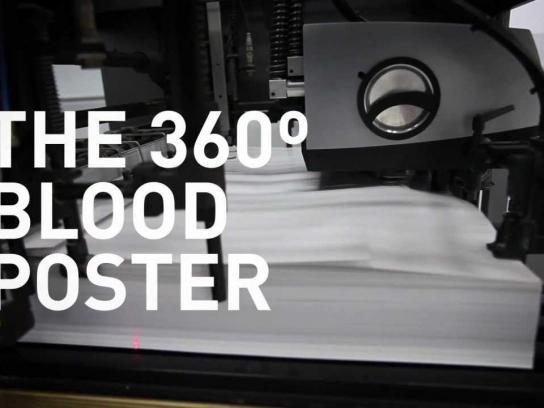 Secretaria de Saúde de Pernambuco Outdoor Ad -  360º Blood Poster