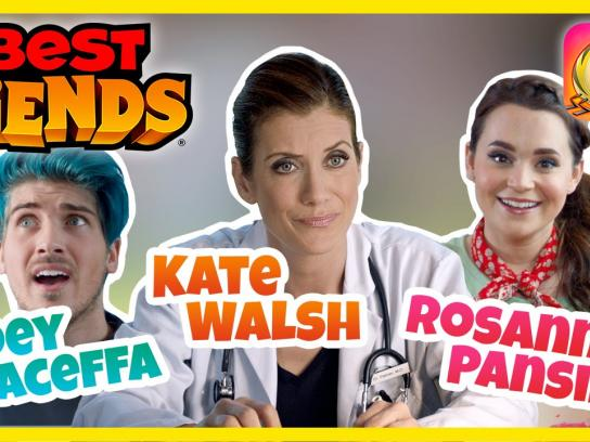 Best Fiends Digital Ad - Don't download Best Fiends! - Kate Walsh