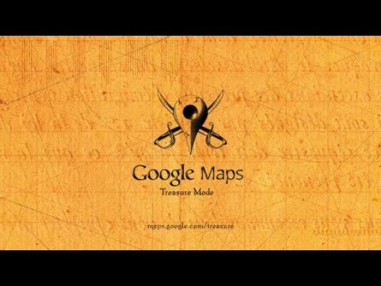 Google Digital Ad -  Explore Treasure Mode with Google Maps