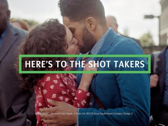 Hornitos Tequila Film Ad - Here's To The Shot Takers - #AShotWorthTaking
