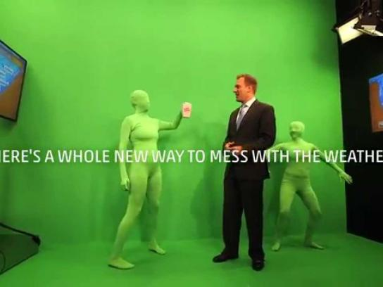 The Weather Channel Film Ad -  Messing With the Weather