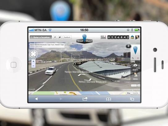 Volkswagen Digital Ad -  Street Quest