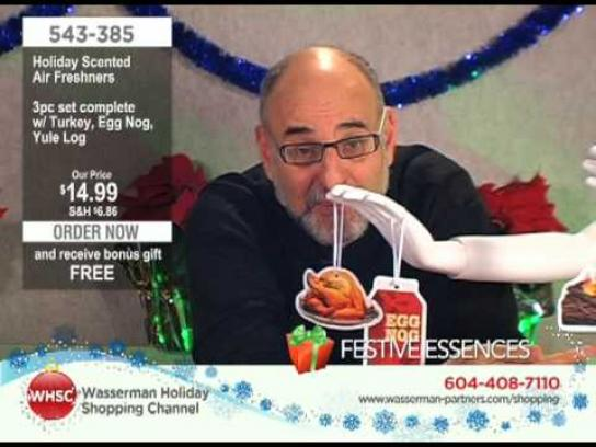 Wasserman Digital Ad -  The Wasserman Holiday Shopping Channel, Holiday Scented Air Fresheners