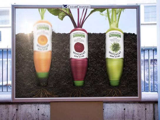Bramhults Outdoor Ad -  Drink more vegetables