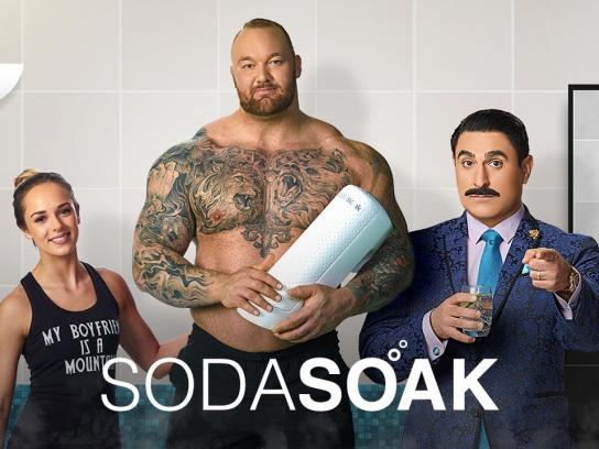SodaStream Film Ad - SodaSoak