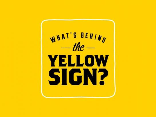 Kampgrounds of America Film Ad -  What's behind the yellow sign