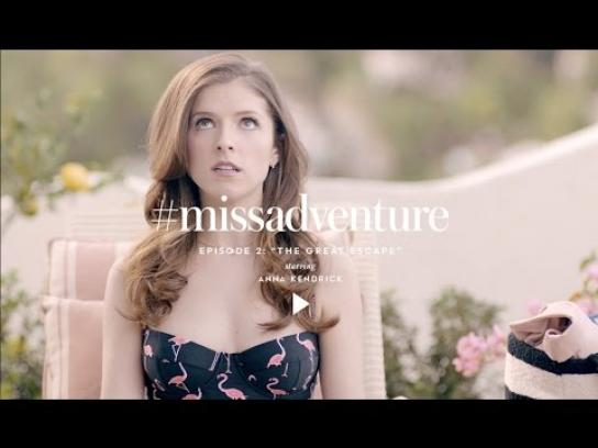 Kate Spade Film Ad -  Miss Adventure - The Great Escape