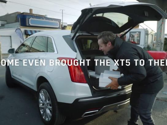Cadillac Experiential Ad - The Instagram test drive