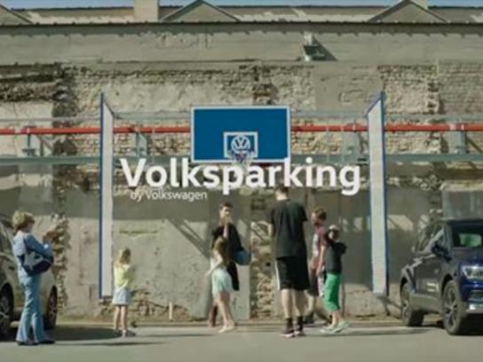 Volkswagen Ambient Ad - Basketball