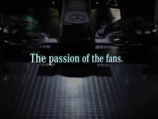 Mercedes Digital Ad -  #FormulaTweet