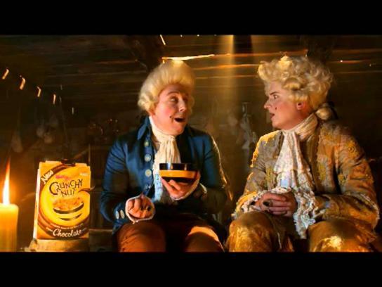 Crunchy Nut Film Ad -  French Revolutionary Chocolatier