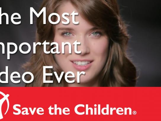 "Save the Children Digital Ad -  The Most Important ""Sexy"" Model Video Ever"