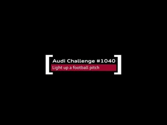 Audi Ambient Ad -  Audi challenges Arabia - The Number 10