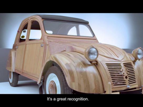 Citroën Film Ad - #Wooden2CV