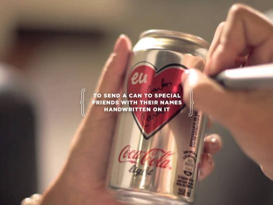 Coca-Cola Light Direct Ad -  The Return of Love