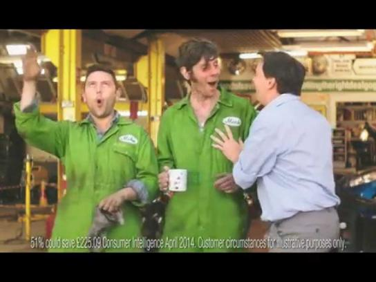 Gocompare.com Film Ad -  Mick and Mike
