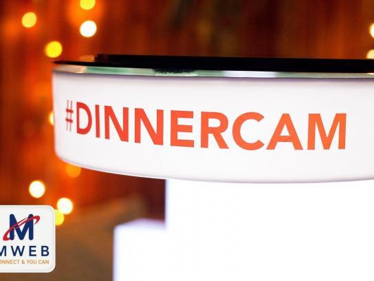 MWEB Ambient Ad -  The MWEB #dinnercam