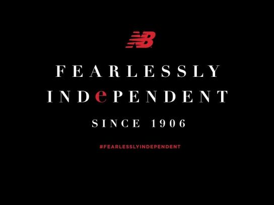 New Balance Film Ad - Fearlessly Independent Since 1906