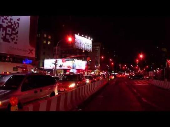 Levi's Outdoor Ad -  Gears billboard